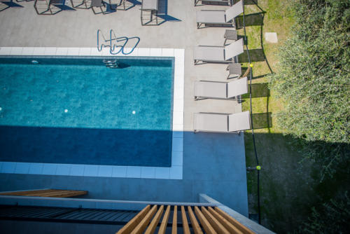 Particolare piscina residence filanda